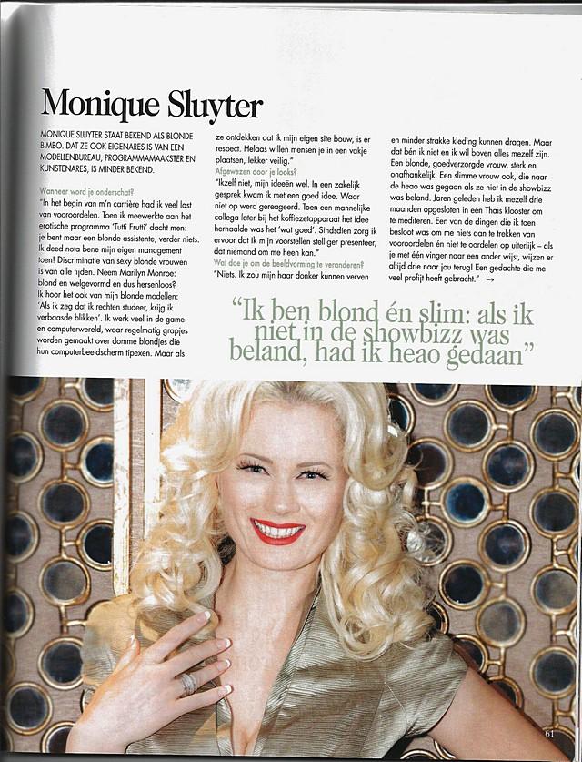 Monique Sluyter in Beaumonde